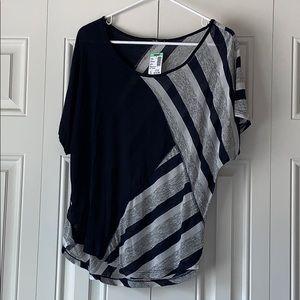 Papaya Navy Striped Tunic (new with tags)